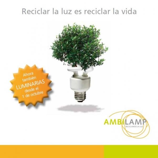 Reciclar la luz es reciclar la vida