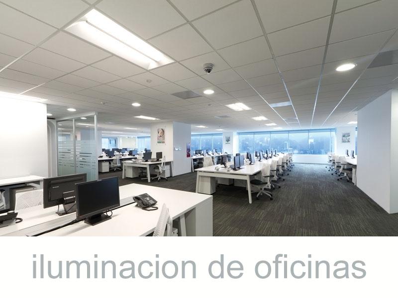 Auditoria iluminacion de oficinas