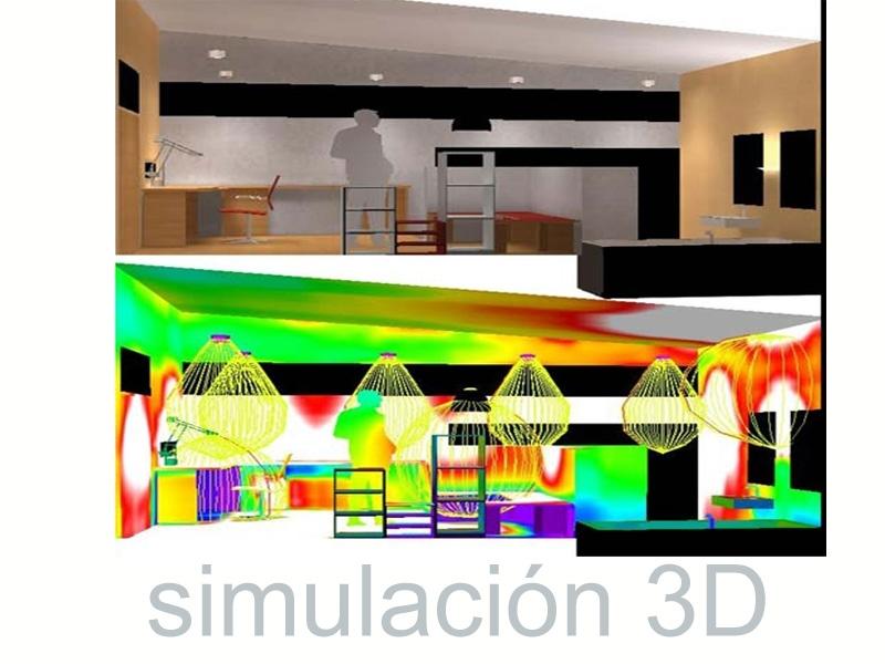 Simulacion digital proyectos lumínicos